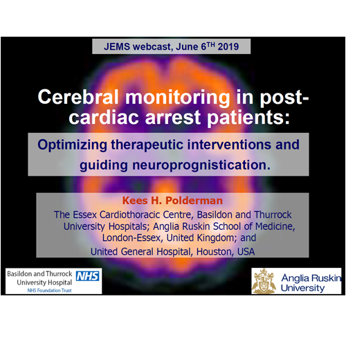 Cerebral Monitoring During Cardiac Arrest