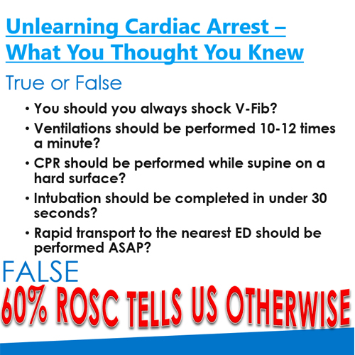 Unlearning Cardiac Arrest - What You Thought You Knew