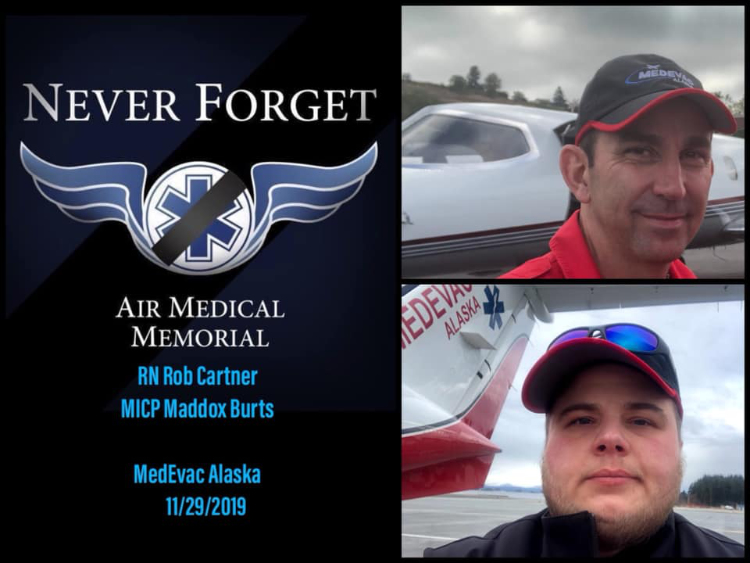 Medics, Pilot Killed in Alaska Plane Crash Remembered