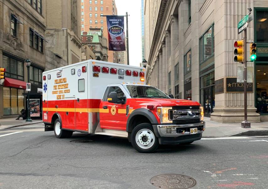 Philadelphia Fire Department ambulance