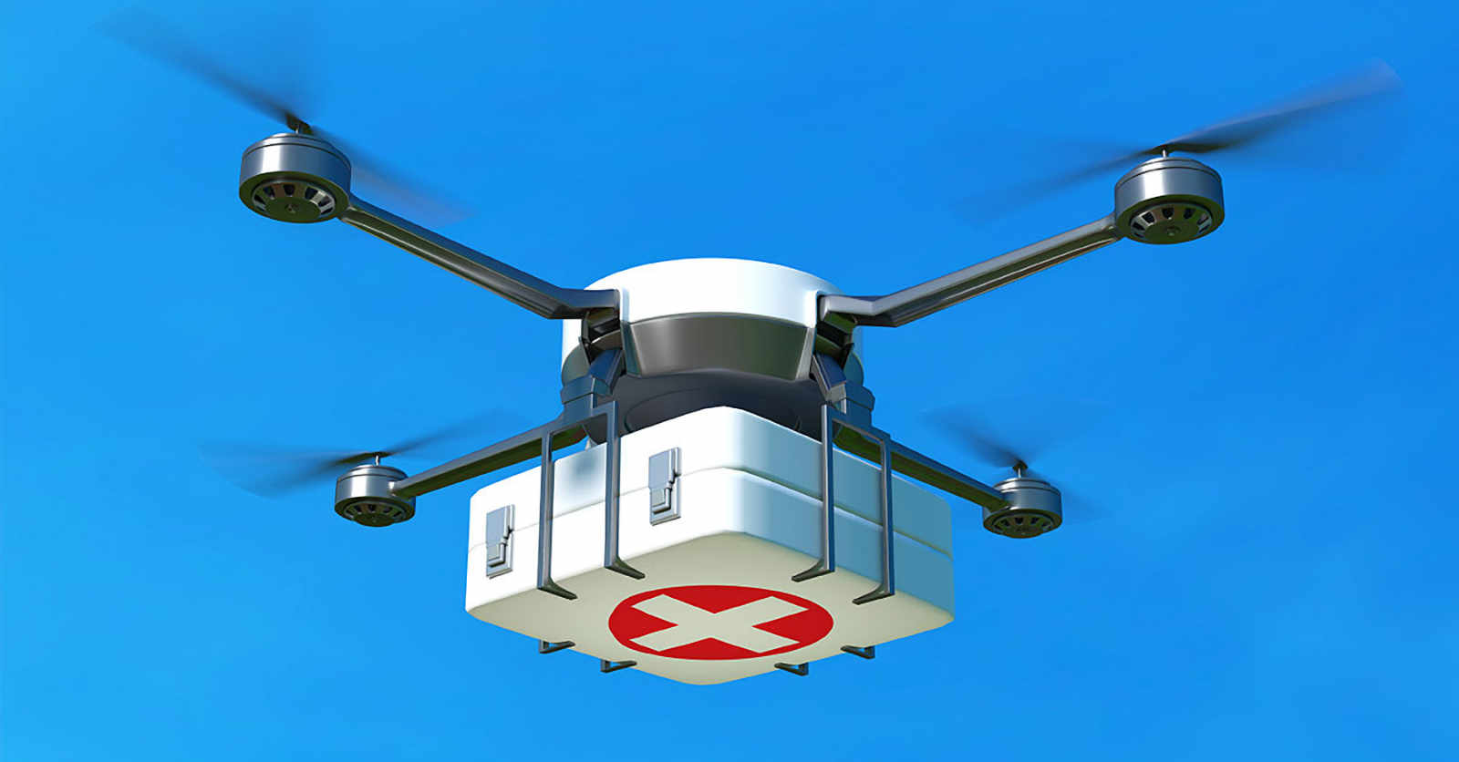 Drones para transporte de orgãos Life Enablers