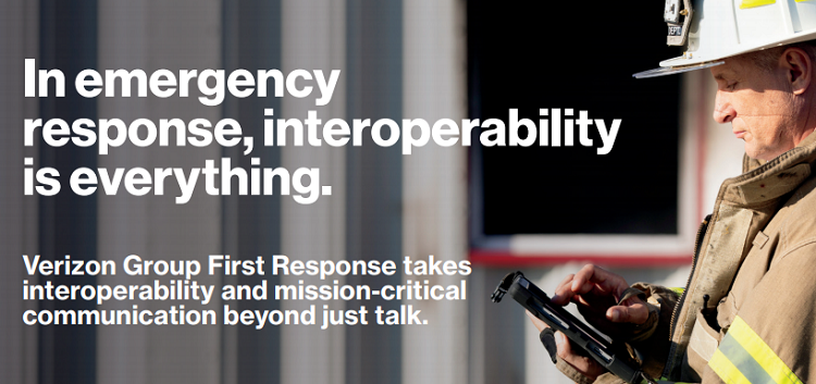 Verizon and Motorola Solutions Bring Interoperable Broadband Communications to Public Safety