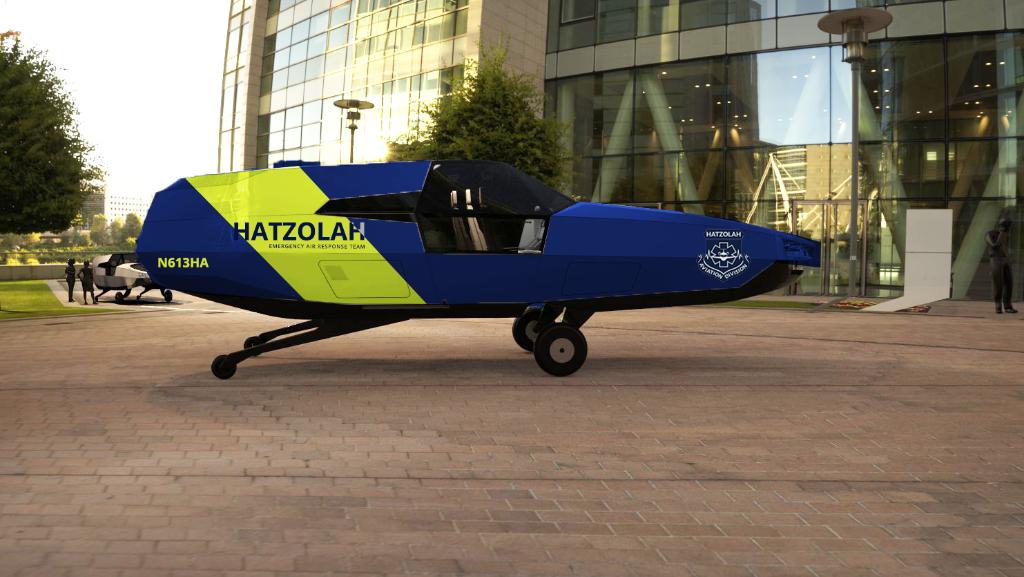 EMS CityHawk VTOL