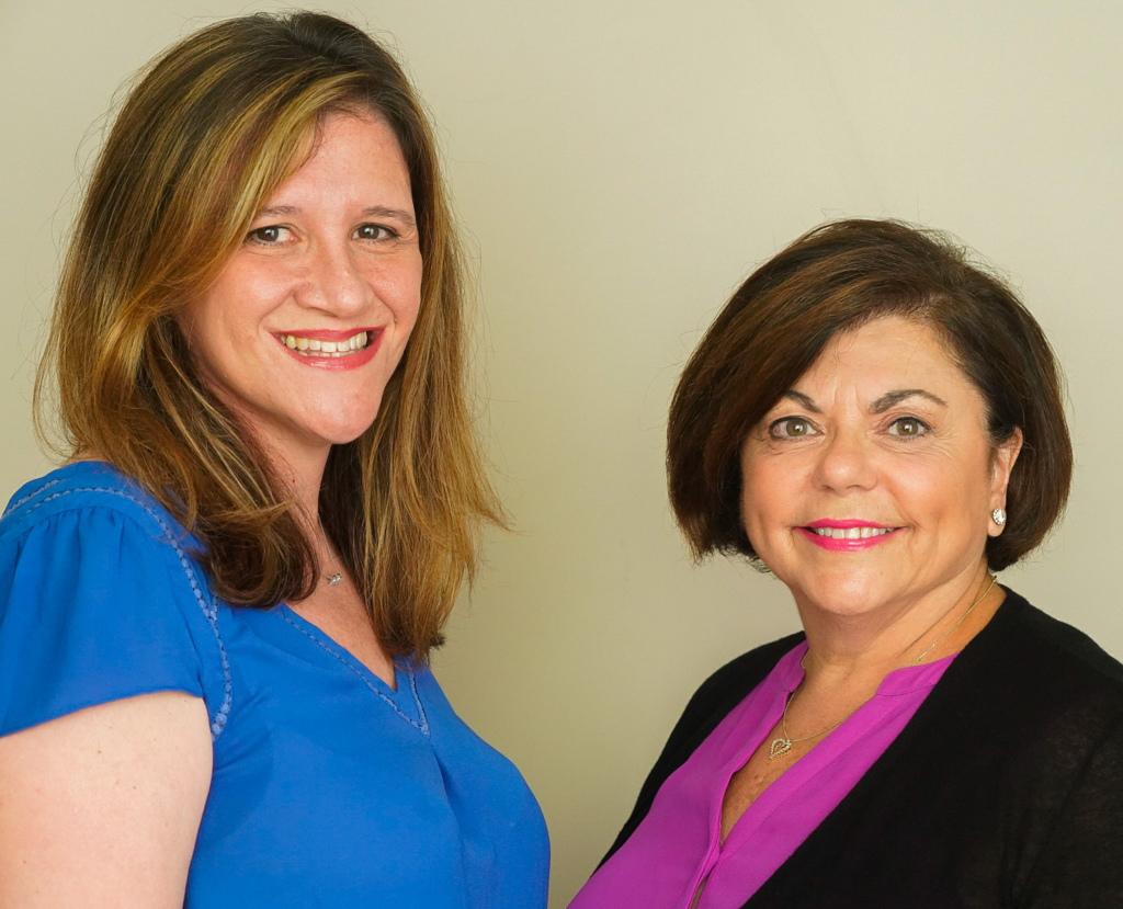 Joanne Orlando and Cindy Orfino