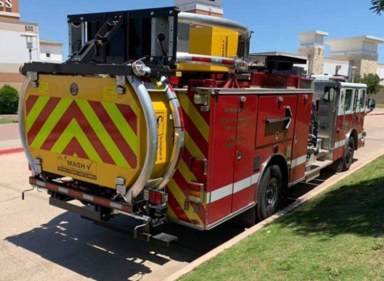 Grand Prairie (TX) Retrofits Engines with Crash Attenuators