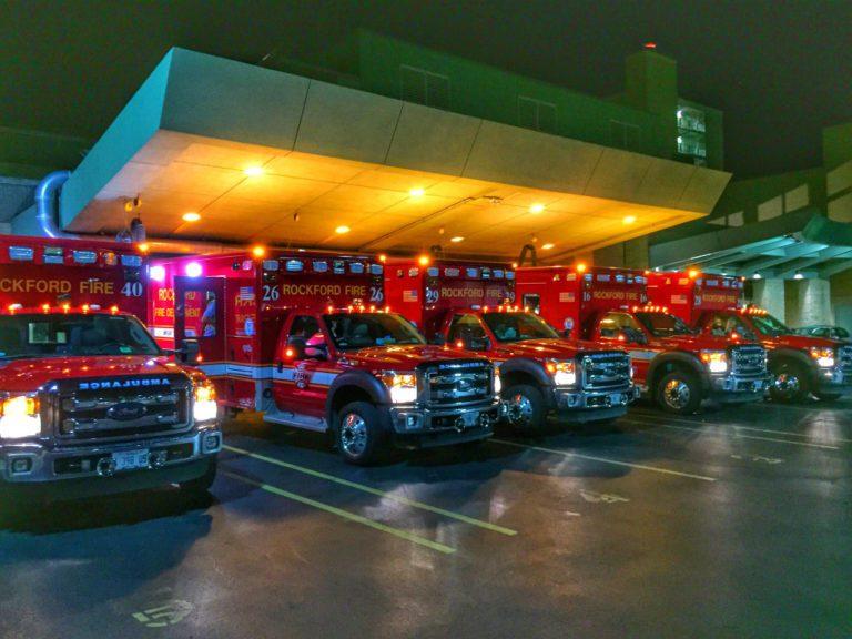 Two Rockford (IL) EMS Providers Hurt in Crash